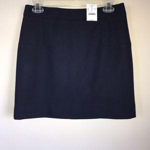 J Crew Wool Blend Skirt NWT!